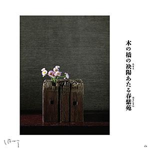味岡伸太郎  『5月(春紫苑)』キャンバス