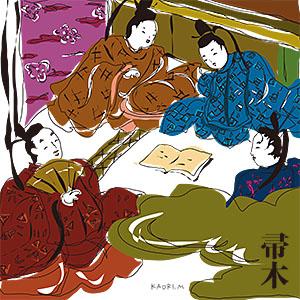 宮田香里 画『帚木』キャンバス