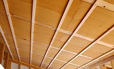 木の繊維断熱材施工事例1