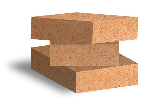 木の繊維断熱材(ウッドファイバー)