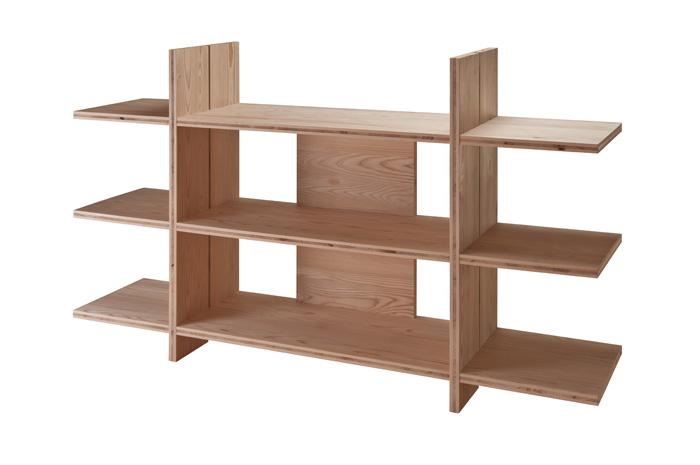 建築家の河合俊和さんデザイン家具「型紙」