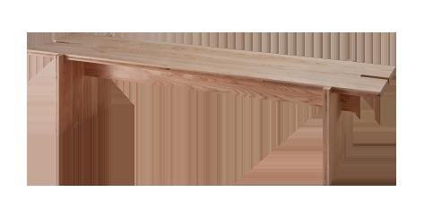 Jパネル30 家具 2つのベンチ完成写真