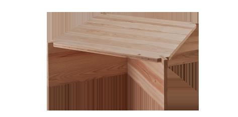 Jパネル30 mobile 家具 センターテーブル(2)完成写真