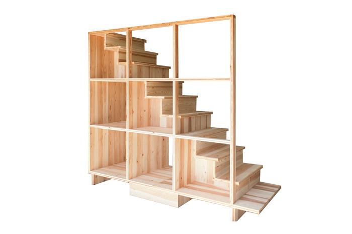建築家趙海光デザイン「箱階段」型紙