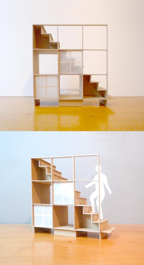 箱階段模型1