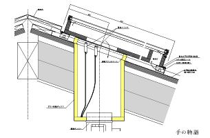 立平葺き納まり図CADデータ