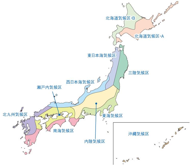 びお気候区分